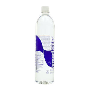 smartwater one liter water bottle