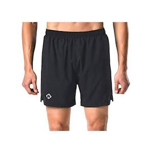 Black athletic shorts used for 20000 step challenge