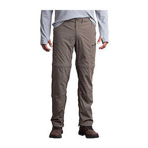Khaki travel pants