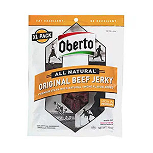 Beef jerky packet