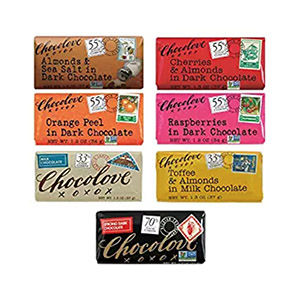 Chocolove bars for trekking deserts
