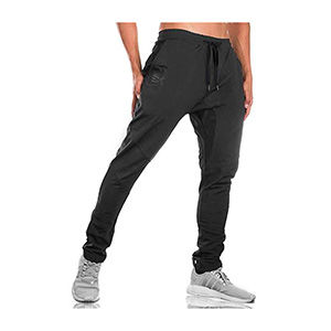 Black travel jogger pants