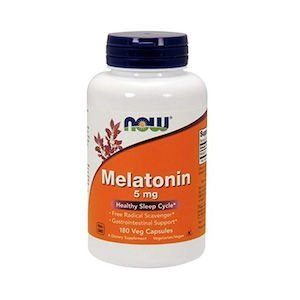 Bottle of 5mg melatonin