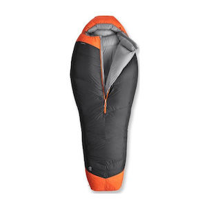 A burly REI backpacking sleeping bag gifted with -20 degree protection