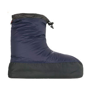 A down insulated bootie