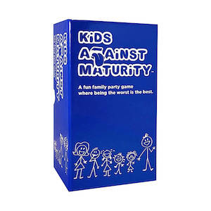 Road trip card game called 'Kids Against Maturity'