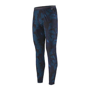 Blue and black long underwear for hiking gifts