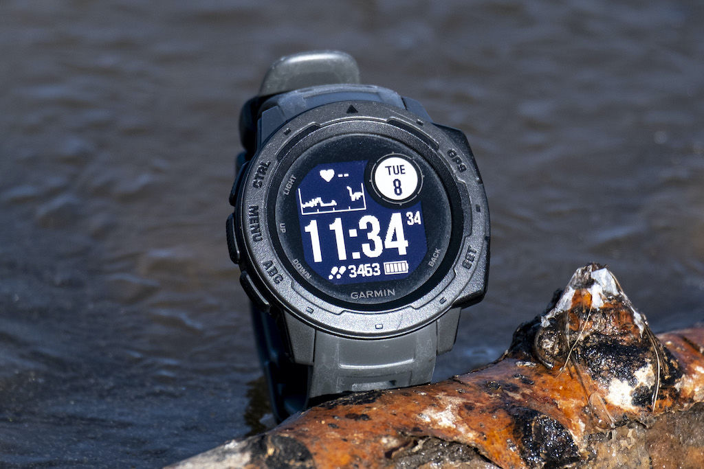 Gifted GPS watch for hiking