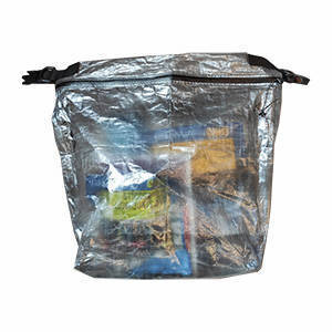 Opaque food storage bag for hiking and backpacking