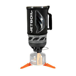 An ultralight backpacking gear Jetboil stove