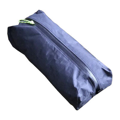 Black DCF ditty bag for hiking and backpacking gear