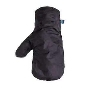 Black waterproof rain mitt by Zpacks